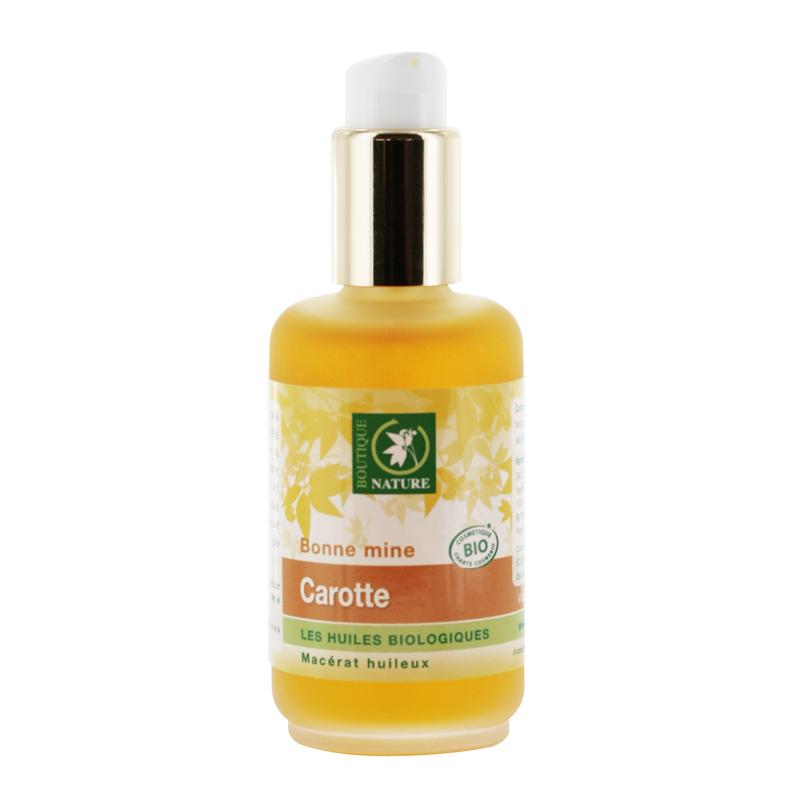 huile végétale bio Carotte